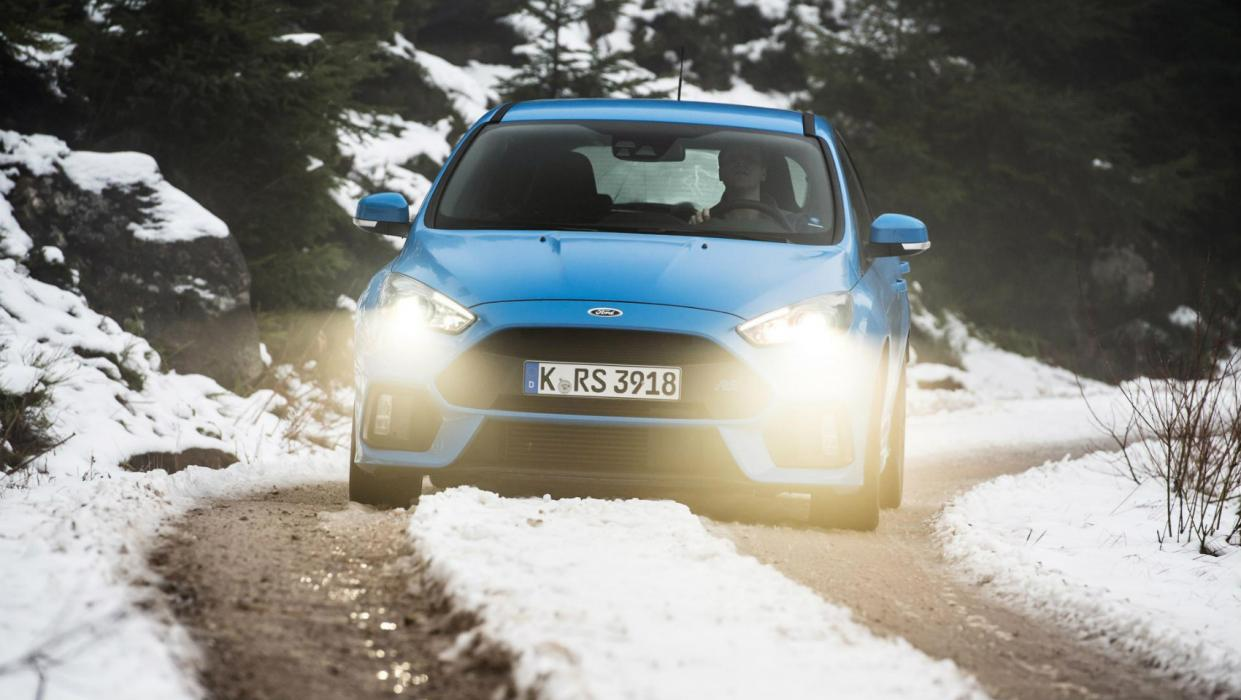 Ford Focus RS Nieve