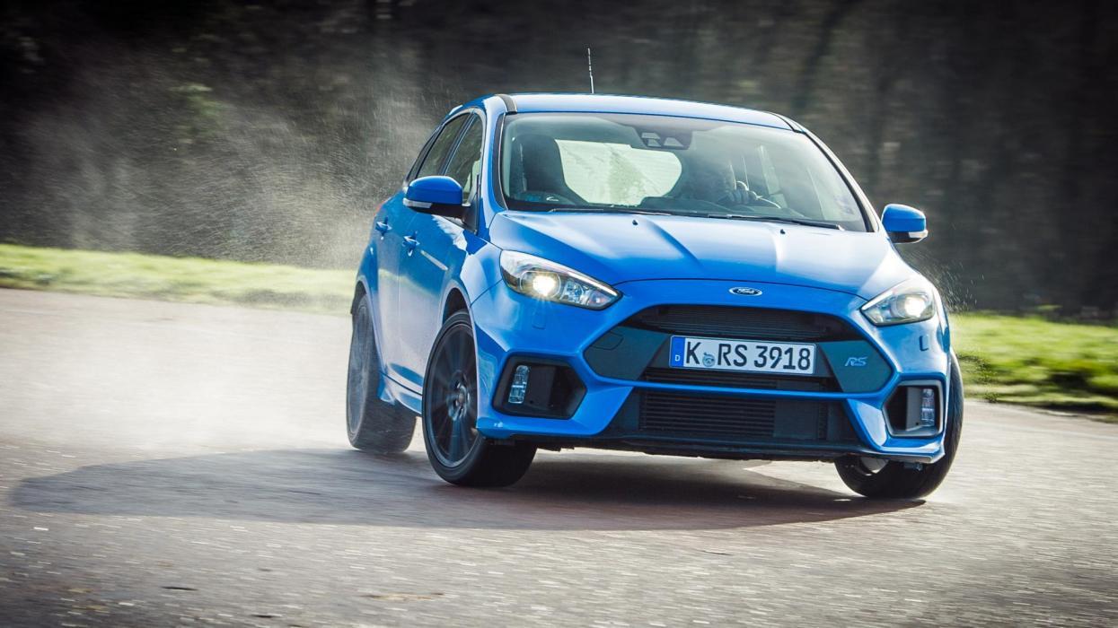 El Ford Focus RS con su 'drift mode' es una máquina de derrapar