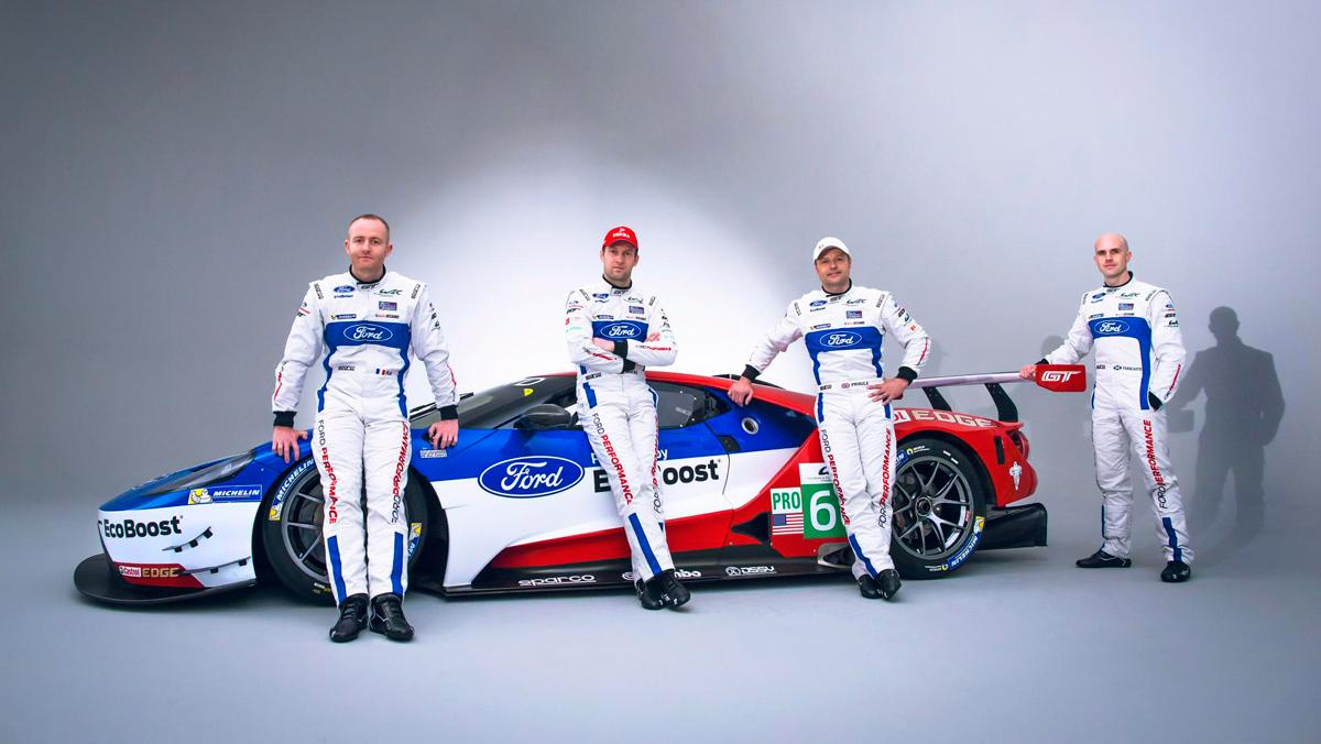 Ford GT40, pilotos Le Mans