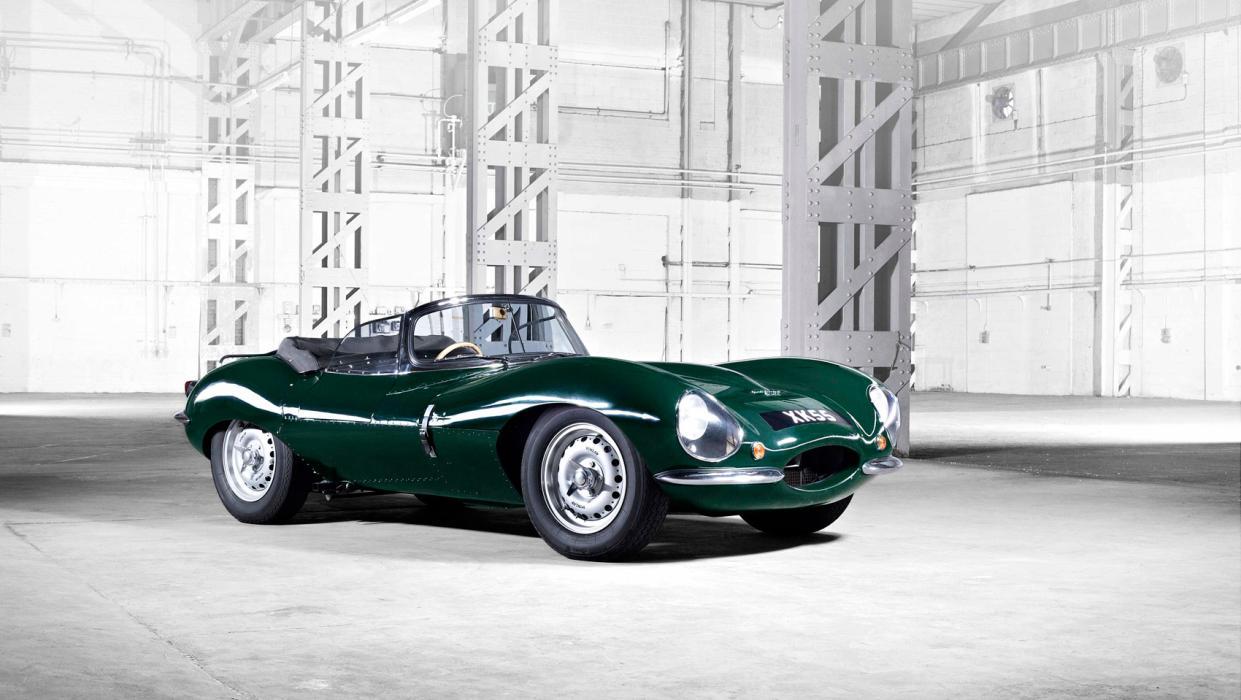 Jaguar XKSS, foto frontal