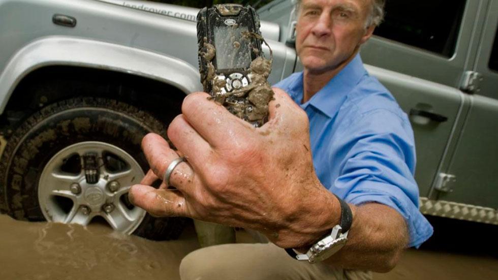 Land Rover móvil smartphone resistente