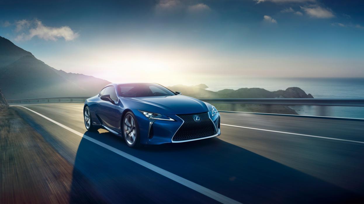 Lexus LC 500h, dinámica