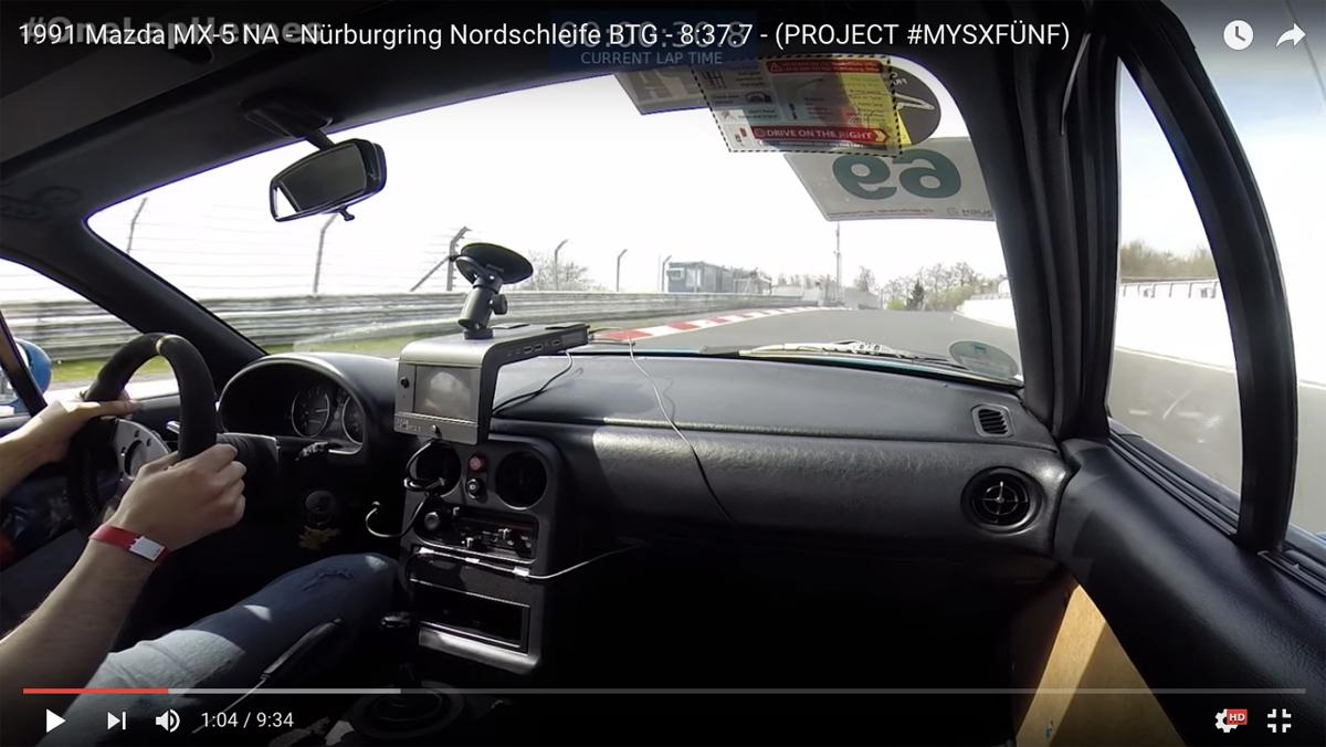 Mazda MX-5 en Nürburgring