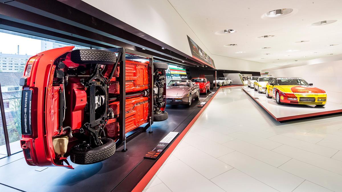 Museo Porsche, exposición transaxle