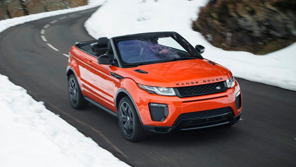 Prueba Range Rover Evoque Cabrio