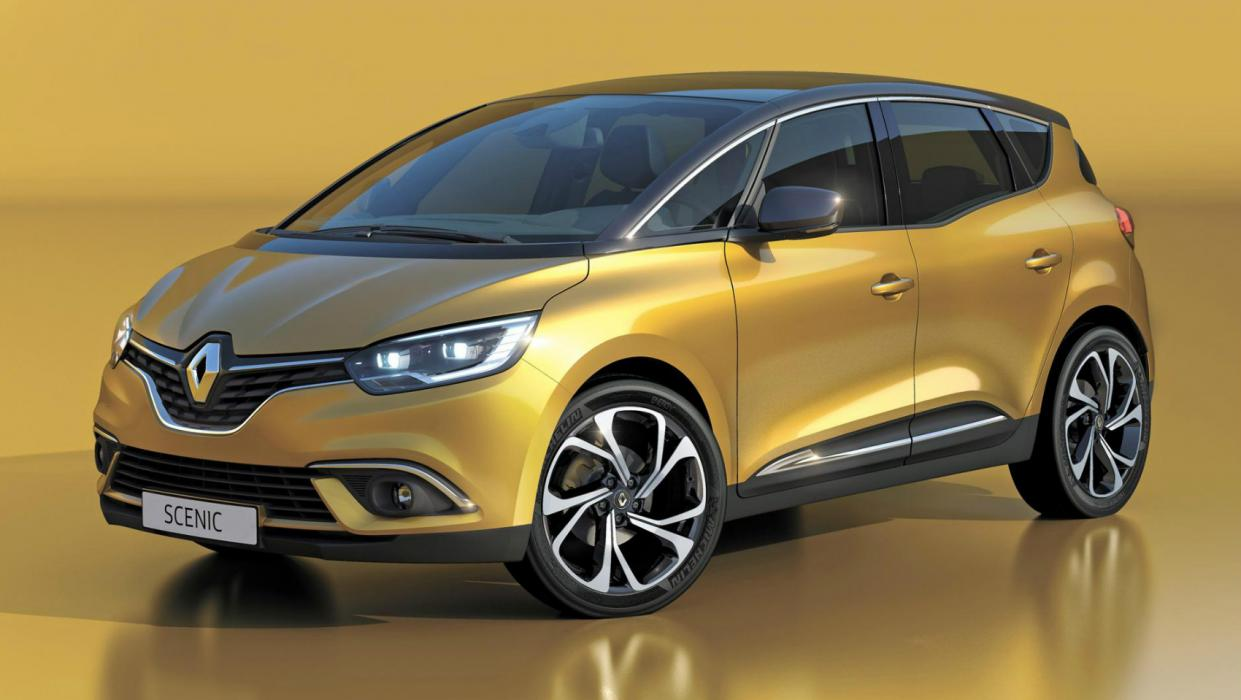 Renault Scénic 2016 Portada