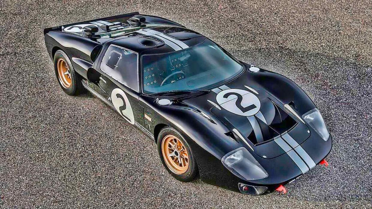 El Superformance GT 40 es casi idéntico al de 1966