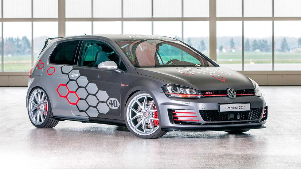 Volkswagen Golf GTI Heartbeat diseño concept unico