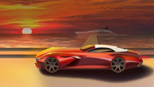 Pininfarina Vision Concept estudio de diseño lujo