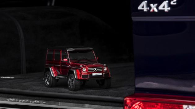 Mercedes G500 4x4² miniatura