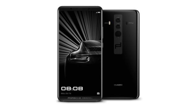 Smartphone Porsche Design y Huawei