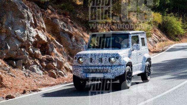 Suzuki Jimny 2019, fotos espía (I)