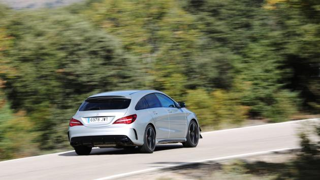 Fotos del exterior del Mercedes-AMG CLA 45 4Matic Shooting Brake