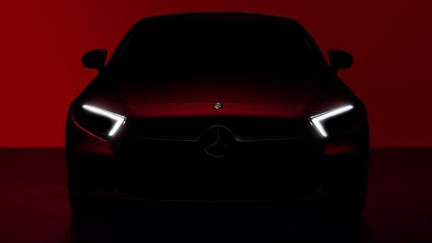 Mercedes CLS 2018 teaser