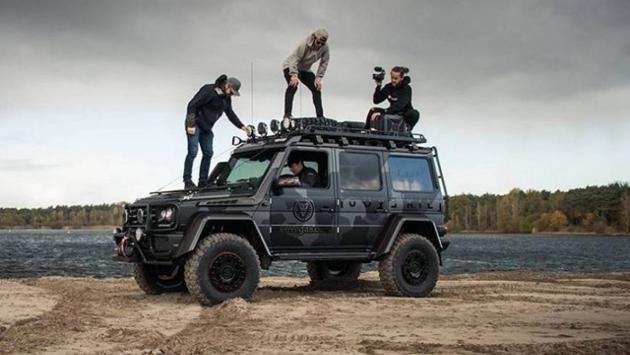 Mercedes G 500 4x4² Jon Olsson