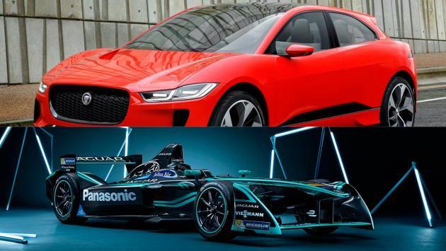 Jaguar en la Fórmula E I Pace coches eléctricos
