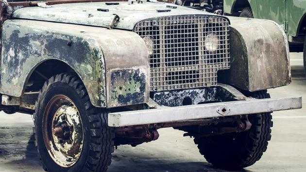 ¡Encontrado el primer Land Rover de la Historia!