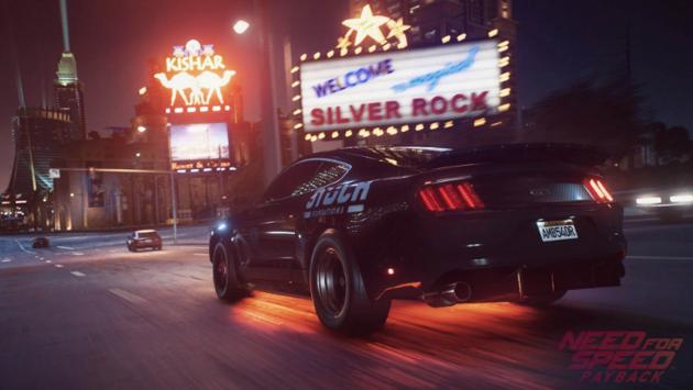 Ford Mustang en el Need for Speed