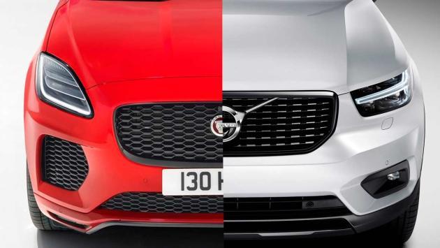 SUV premium lujo compacto frontal faros led