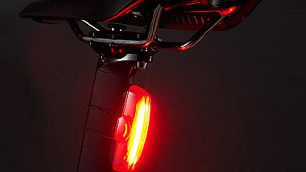 Luz trasera de bici