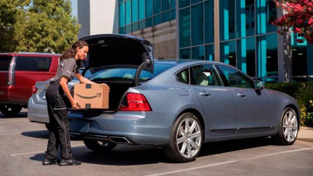 maletero lujo entrega paqueteria prime