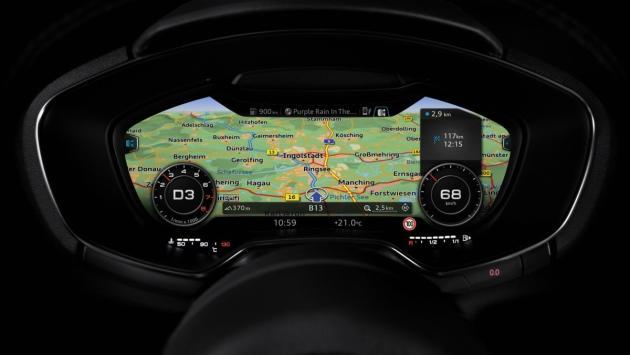 Audi infotainment