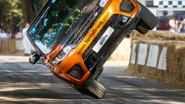 Así fue el récord de Range Rover en Goodwood