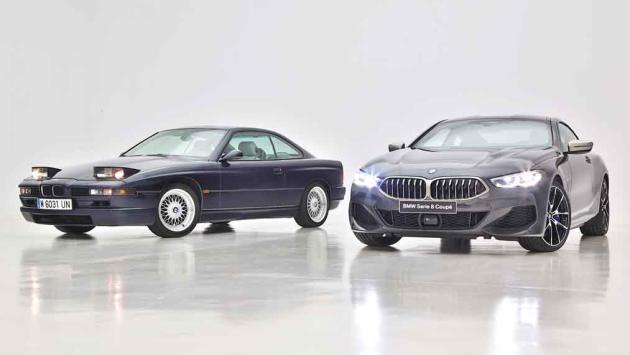 BMW Serie 8 Coupé 2018 vs BMW 850 CSi 1989