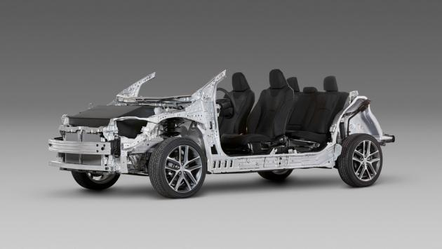 Chasis Toyota TNGA