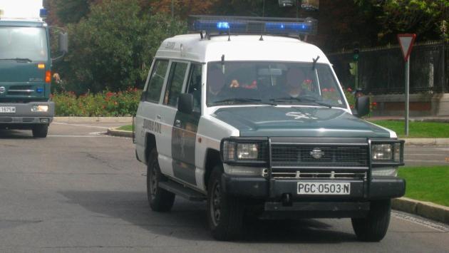 guardia civil Nissan Patrol