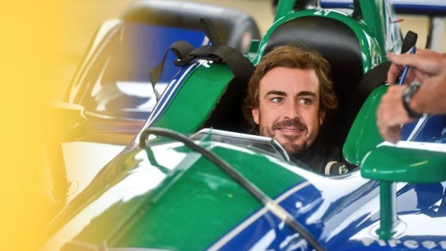 Alonso, satisfecho con el test de la IndyCar