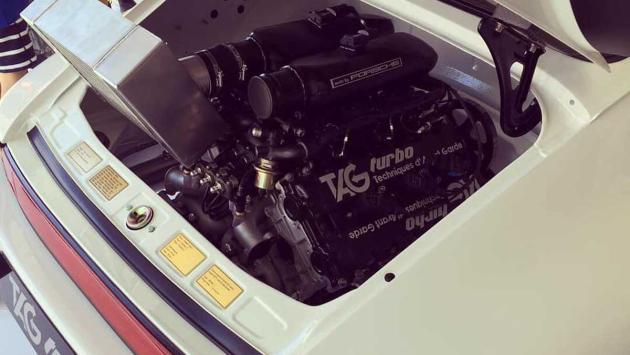 Porsche 911 con motor F1