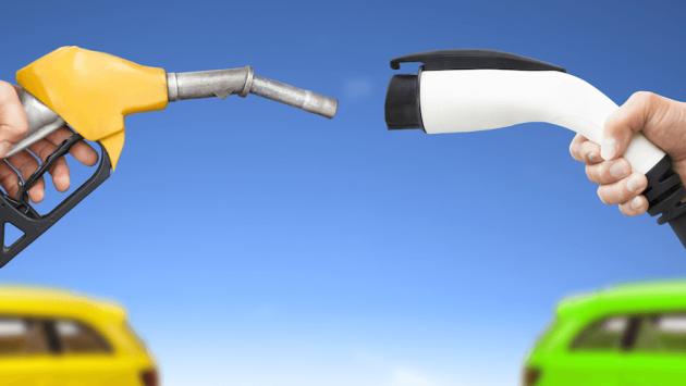 Coche gasolina vs coche eléctrico