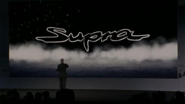 Trolleo nuevo Toyota Supra