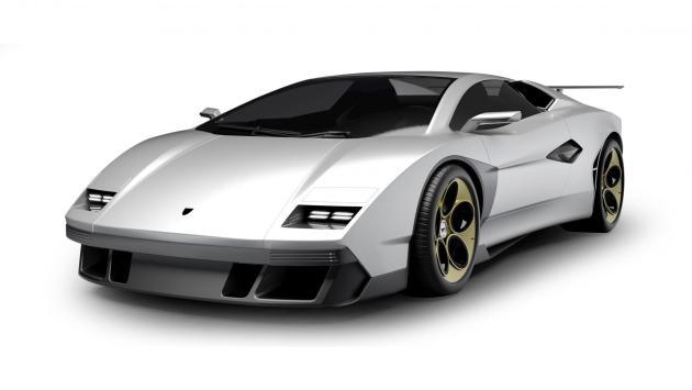 Lamborghini Countach (frontal)