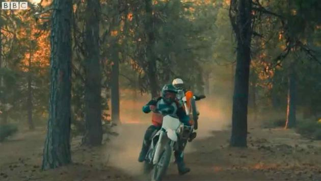Top Gear TV motocross eléctrico