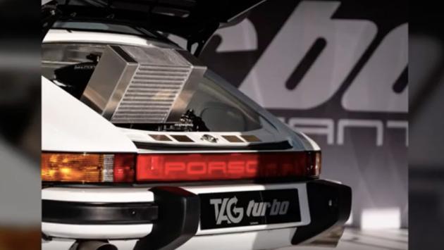 Porsche 930 TAG Turbo Lanzante