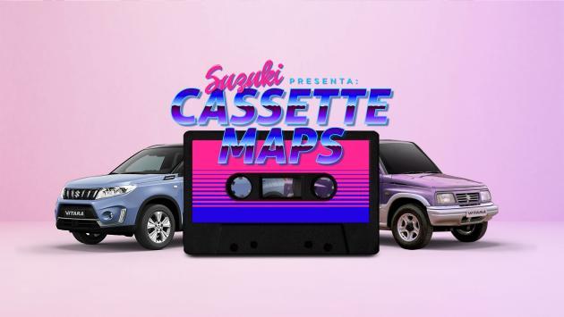Suzuki vitara cassette maps