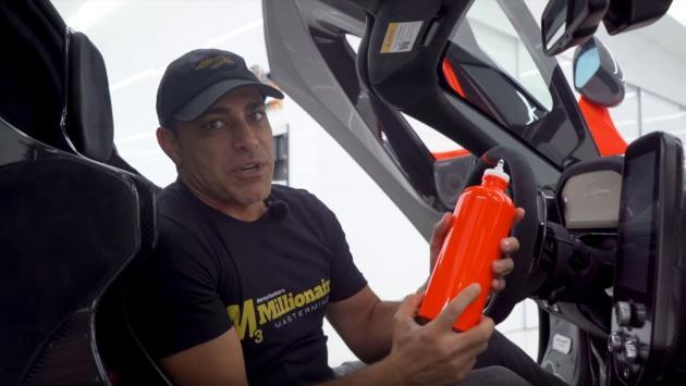 botella agua McLaren Senna