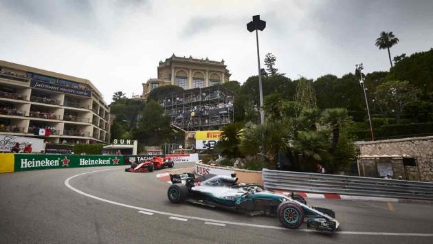 GP Mónaco 2018