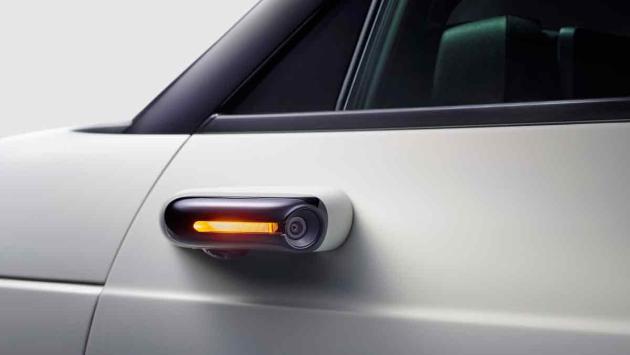 Retrovisores digitales Honda E