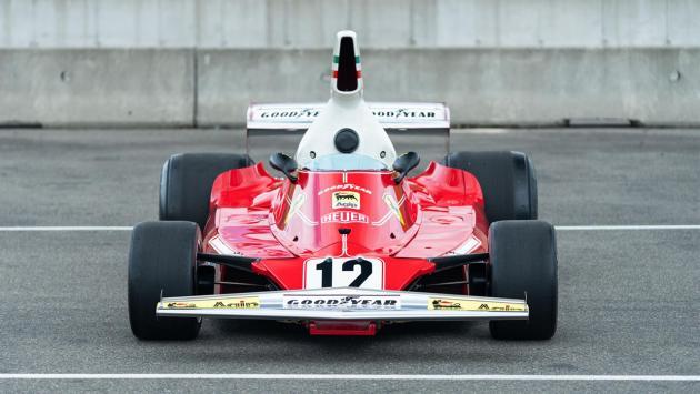Coche F1 Lauda frontal