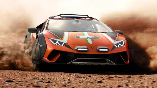 Lamborghini Huracan Sterrato frontal