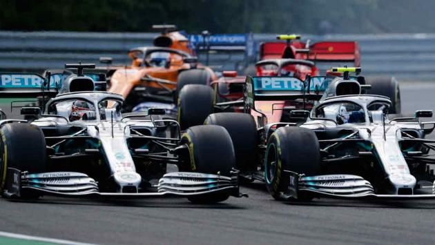 Monoplazas Mercedes F1