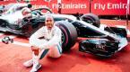 GP Alemania F1 2018 Hanillton feliz como una perdiz