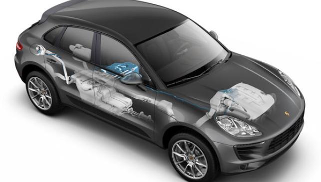 Sistema de administración de AdBlue del Porsche Macan Diesel