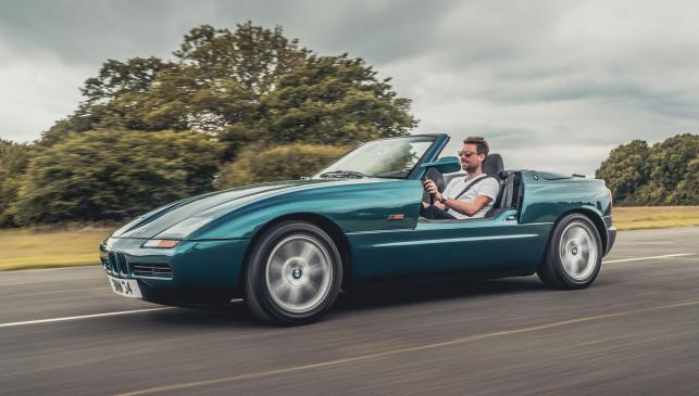 Prueba retro: BMW Z1 (I)