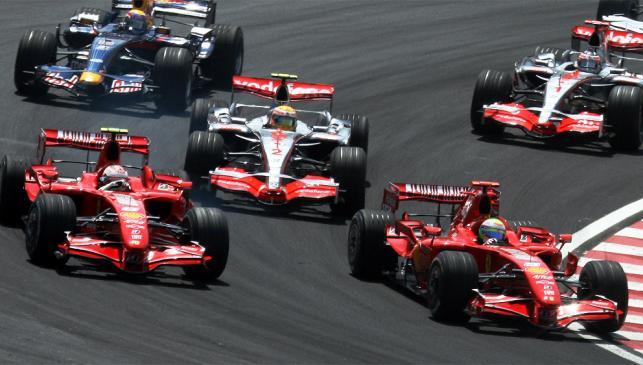 Kimi Raikkonen, Campeón GP Brasil F1 2007