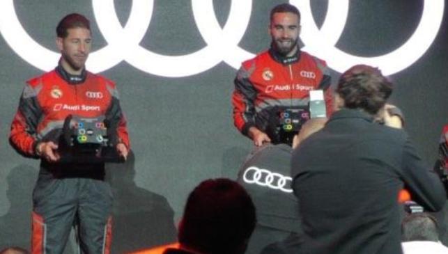 Los 25 Audi de los futbolistas del Madrid