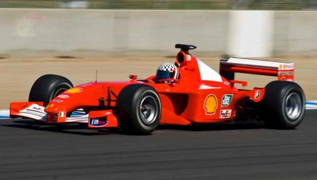 El F2001 de Schumi subastado por 6 kilazos